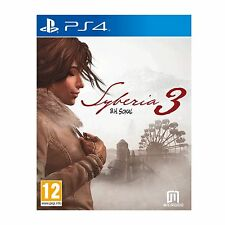 Syberia 3 PS4 Game - Brand New!