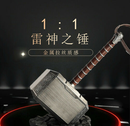 Thor The Dark World 1:1 Mjolnir Hammer  The Avengers Prop Replica Model