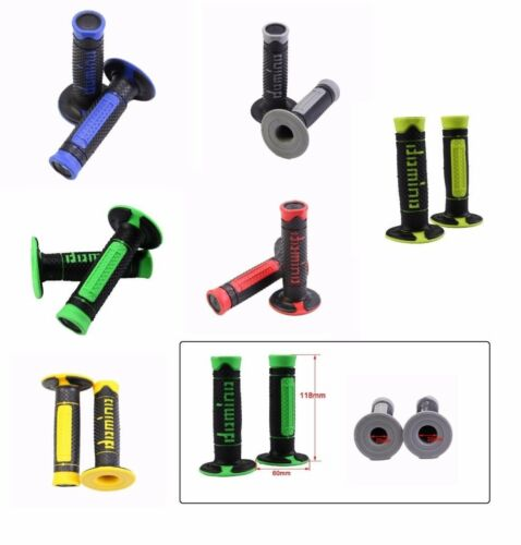 """Soft 22mm 7//8/"""" Silicone Hand Grips Handlebar For Motorcycle Pit Dirt Bike"""