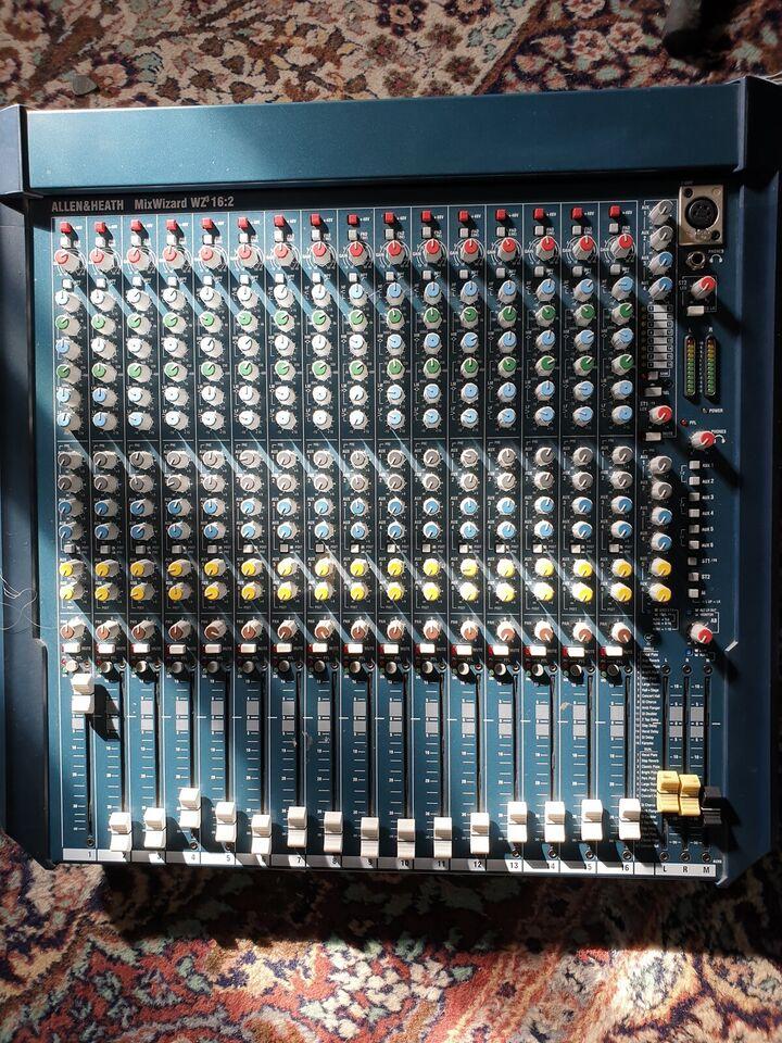 16 kanals mixer m. effekter, Allen & Heath Mixwizard WZ3