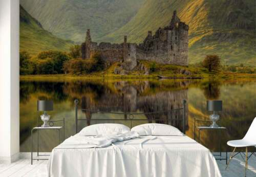 Kilchurn Schloss Schottland Ruinen Vlies Fototapete 1X-1000954 Tapete