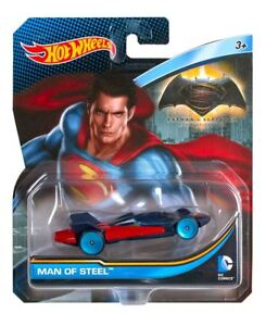 Hot Wheels Dc Comics Batman V Superman Man Of Steel