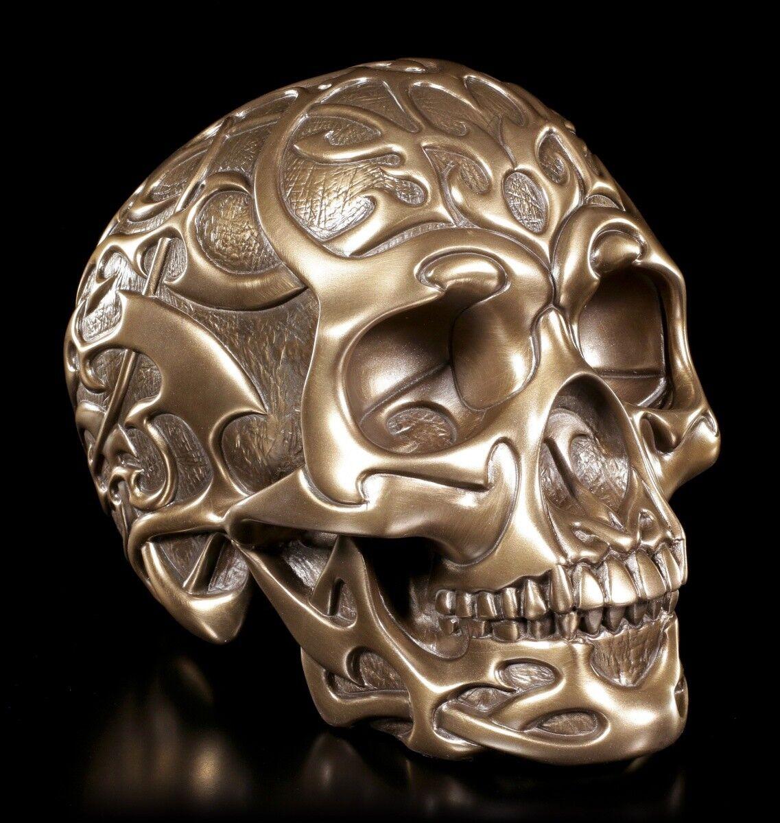 Tribal Skull - - - Bronzed - Design Clinic Skull Gothic be9ecc