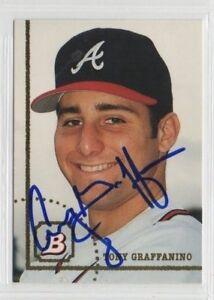 Tony Graffanino 1994 Bowman autographed auto signed card Braves