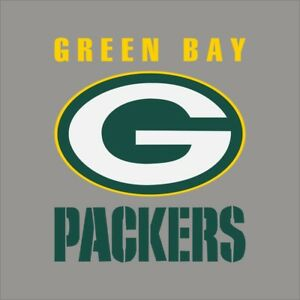 Green Bay Packers Logo Vinyl Sticker Decal *SIZES* Cornhole Truck Wall Helmet