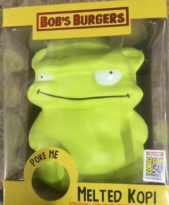 2019 Bob/'s Burgers KUCHI KOPI FAMILY 5-Pack Figure Set phatmojo sdcc RARE NEW