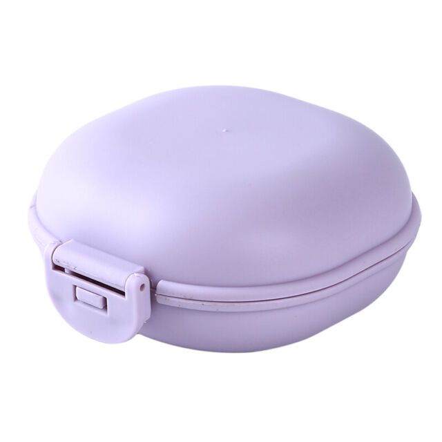 New Muji Soap dish Portable with Lid and Sponge Large Japan