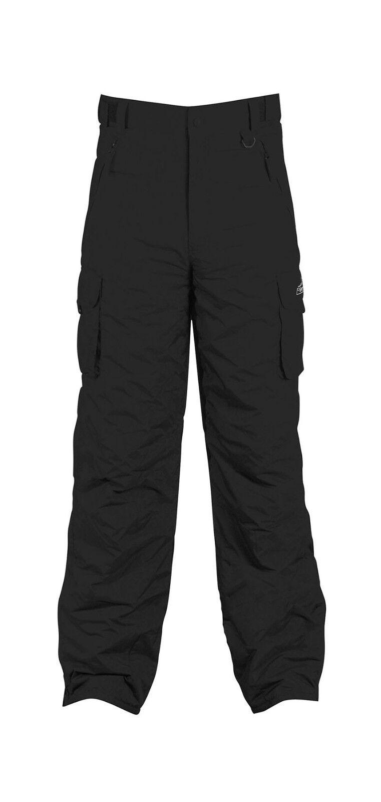Whitestorm Youth Kids Insulated Waterproof Cargo Winter Ski Snowboard Pants