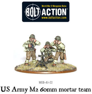 28mm-WW2-US-GI-Ranger-Army-60MM-Mortar-Team-D-Day-Overlord