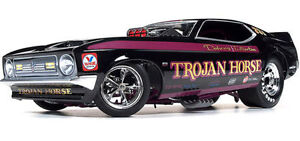 Ford Mustang Trojan Horse Nhra Funny Car 1 18 Autoworld Aw Vintage