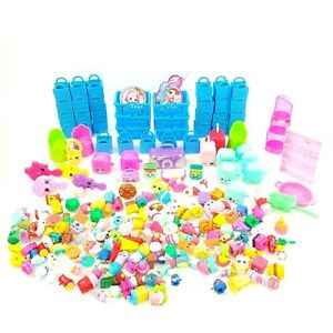Huge-Lot-of-Shopkins-Figures-Mixed-Seasons-Play-Set-amp-Accessories
