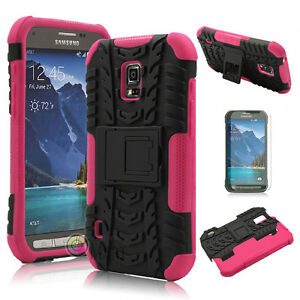 new product d3691 85ff6 Details about Shockproof Hybrid Rugged Protective Hard Case Cover For  Samsung Galaxy S5 Active