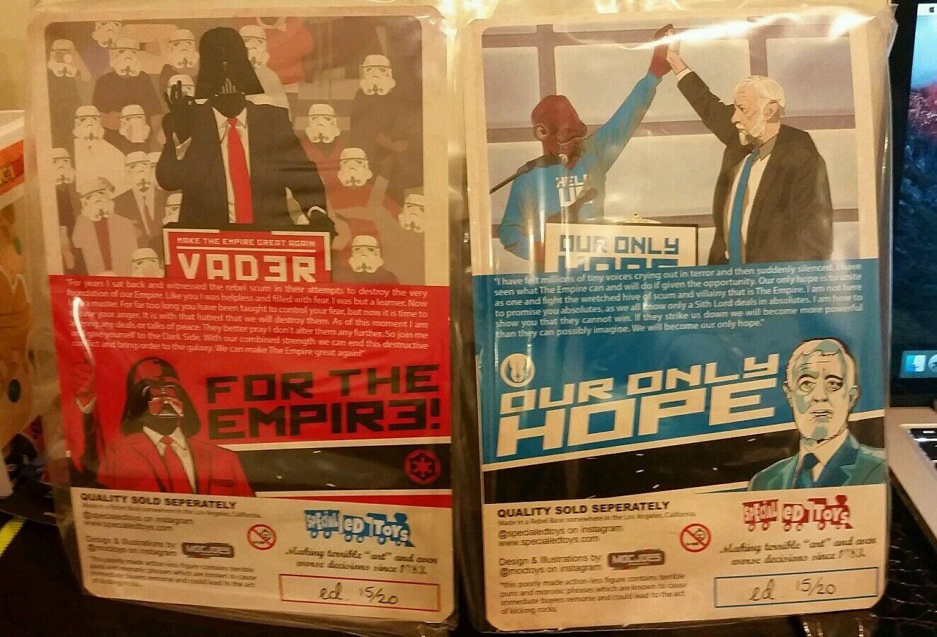 NYCC 2016 Exclusive DKE Our Only Hope For The Empire Empire Empire Set 15 20  Estrella Guerras e2c496