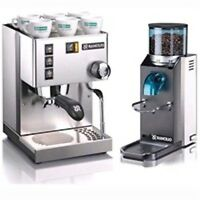 Rancilio Silvia M Espresso Machine & Rocky Doserless Grinder - Latest Version