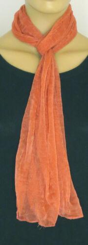 Mesdames mousseline sentir léger plaine foulard de mode-disponible en plusieurs col
