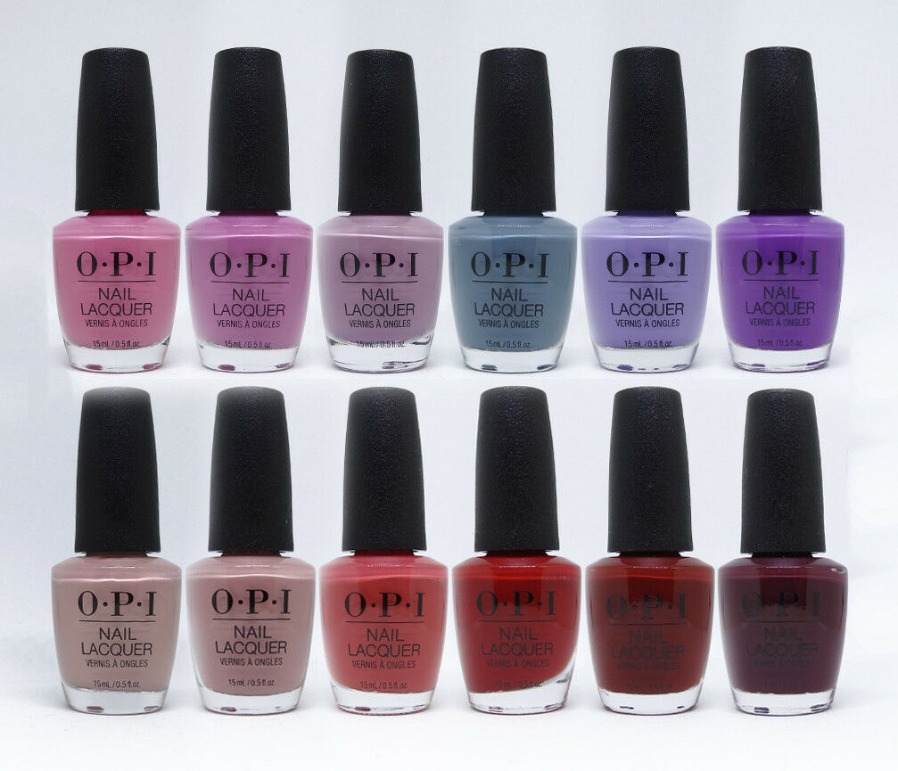 OPI Peru Collection Fall 2018 Nail Lacquer Set Of 12