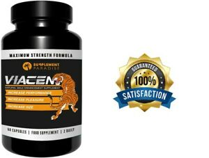 VIACEN 60 CAPSULES NATURAL MALE ENHANCEMENT - FREE FAST DELIVERY