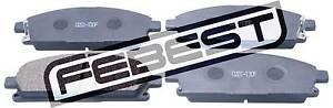 0201-T30F-Genuine-Febest-Pad-Kit-Disc-Brake-Front-D1060-0W7X5