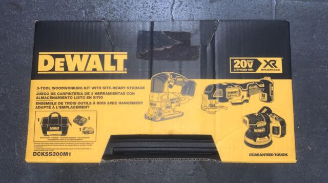 DEWALT 20V MAX XR Brushless Cordless Li-Ion 3 Piece Kit DCKSS300M1 2020
