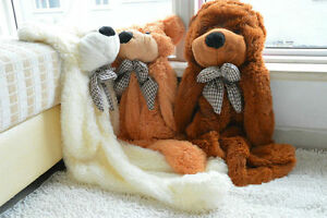 Teddy-Bear-Skin-Only-Cover-Giant-Doll-Plush-Toy-Semi-finished-Shell-Xmas-Gifts-A