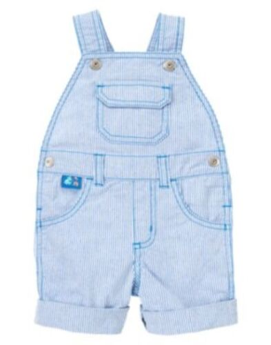 GYMBOREE HIPPOS /& BLUES MINI STRIPE OVERALLS 6 12 18 24 NWT