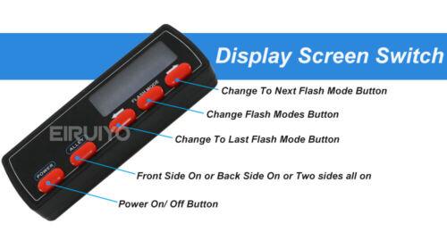 Interchange Part Number Car Truck Emergency Flash Warning Signal Light, Universal Construction Security Light