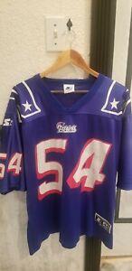 VTG 90s NFL Starter New England Patriots Tedy Bruschi Jersey 54 ...