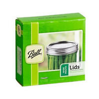 Ball 42000 Mason Glass Canning Jar Wide Mouth Bpa Free Lids, 12-pack on sale