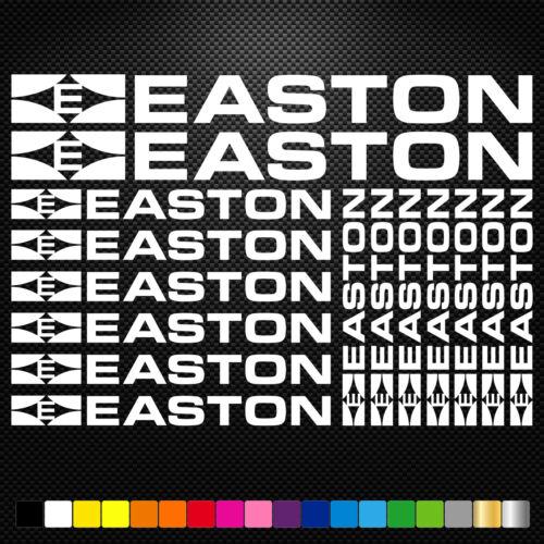 Easton 15 Stickers Autocollants Adhésifs Vtt Velo Mountain Bike Dh Freeride