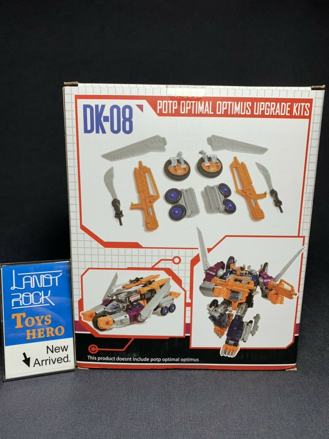[Toys Hero] In Hand DNA DK-08 upgrade upgrade upgrade kit for POTP OPTIMUS 7d8bea