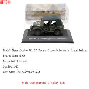 IXO-1-43-Dodge-WC-57-Forca-Expedicionaria-Brasileira-Diecast-Toys-Models-Limited