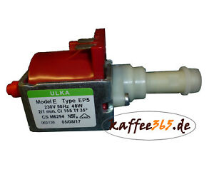ULKA EP5 Wasserpumpe, 230V 50Hz 48W Pumpe f. Lavazza, Quick Mill, Spinel, Pavoni