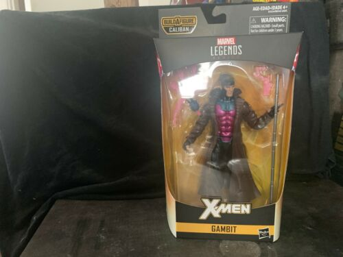 GAMBIT Action Figure MARVEL LEGENDS Caliban BAF Hasbro 2018 Brand New Sealed!