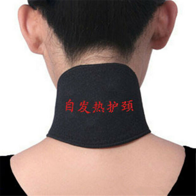 New Magnetic Therapy Neck Spontaneous Heating Headache Belt Neck Massager Gift