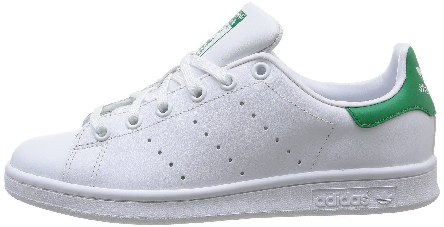 ADIDAS ORIGINALS STAN SMITH J women RAGAZZO M20605 BIANCO green WHITE TENNIS