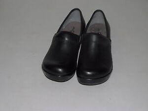 NEW-Womens-Jambu-JBU-Cordoba-Black-Wedge-Clog-Slip-On-Shoes-Sz-EUR-37-US-7M
