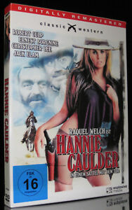 DVD HANNIE CAULDER - IM SCHUBER - IN EINEM SATTEL MIT DEM TOD - RAQUEL WELCH