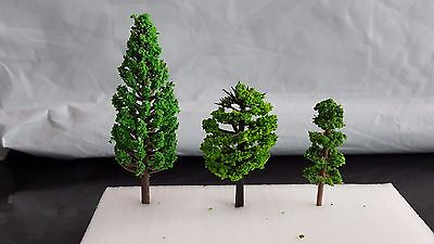 Model Trees - Railway Tree Architecture Model Making Games Warhammer | eBay