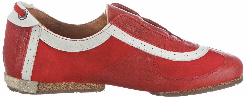 Stork Steps Halbschuhe red Leder
