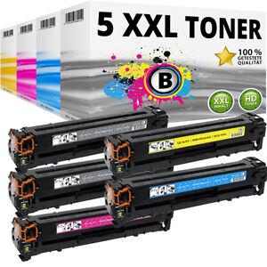 5-XXL-TONER-fuer-HP-LaserJet-Pro-200-Color-M251n-M251nw-M276n-M276nw-131X-131A