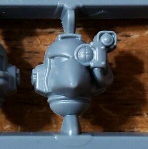 Devastator Armored Head w//Targeter J Warhammer 40k Space Marine Bits