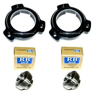 Details about (2) 1 1/4 Axle Bearing Cassette & Bearings Go Kart Racing  Chassis Drift Trike