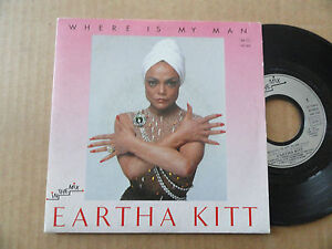 DISQUE-45T-DE-EARTHA-KITT-034-WHERE-IS-MY-MAN-034