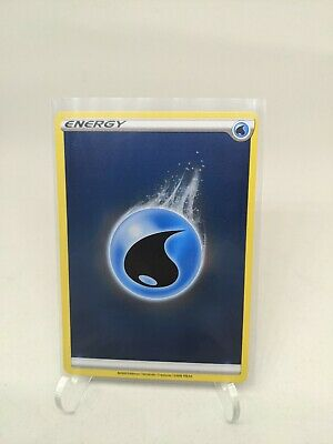 Pokemon TCG Water Energy Holo Champions Path