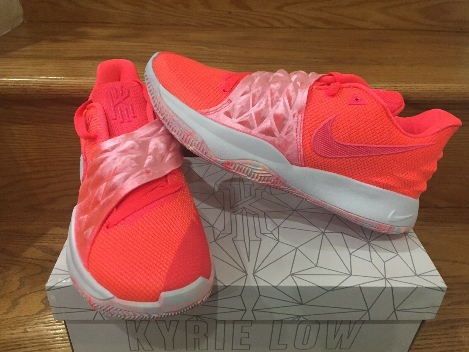 Nike Kyrie Low 1 EP Irving Hot Punch Red Pink AO8980-600 Size 8-13 New DS