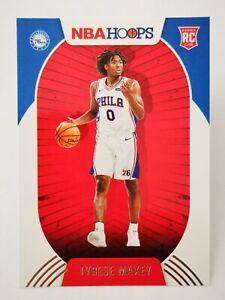 Panini Hoops 2020-21 N21 card NBA Rookie #207 Philadelphia 76ers Tyrese Maxey