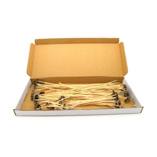 50 piezas de alta calidad Pre Encerado mechas con punto para hacer vela