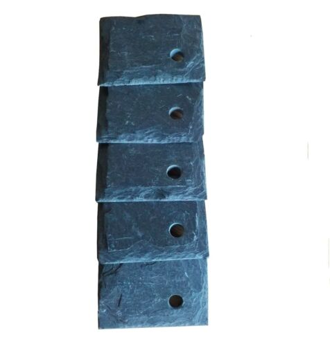 10 Natural Slate Garden Plant Markers Labels Tags Herbs Vegetables 5cm x 4cm