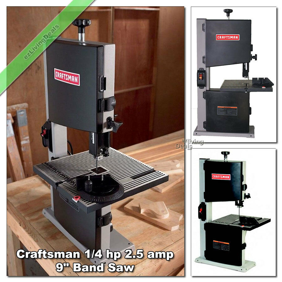 9 craftsman band saw 25 amp 14 hp woodworking bandsaw wood miter 9 inch craftsman band saw has 3 58 height adjustment greentooth Images