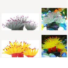 Coral Flower Artificial Plastic Water Plant Ornament Fish Tank Aquarium Decor